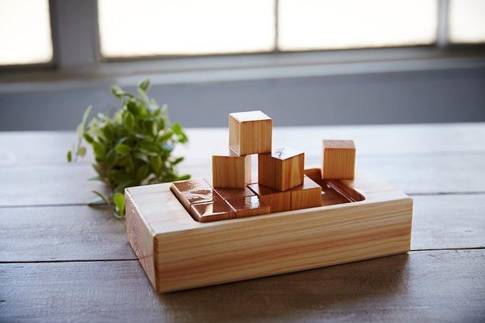 ブロックの置き方で様々な変化をつけられる