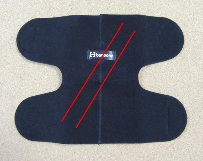 ファンクショナルベルトで腕のひねりを補助1
