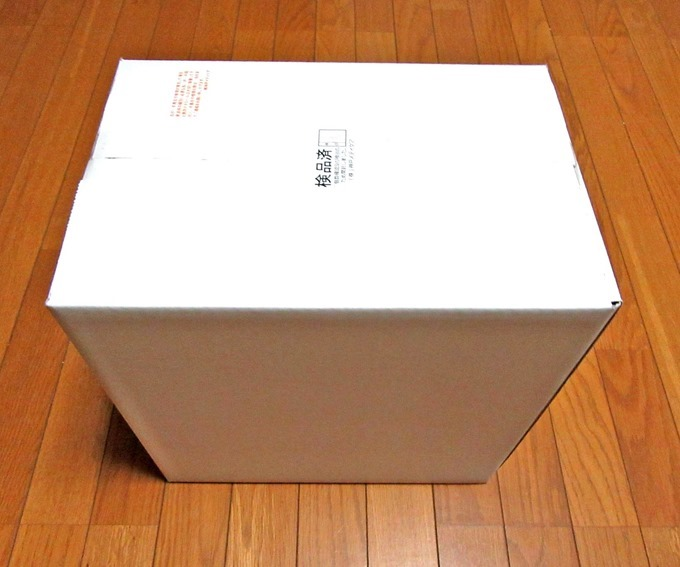 酸素発生器の箱