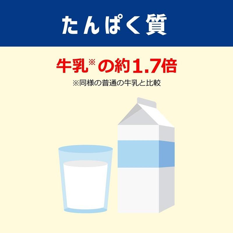メイバランスゼリータイプは牛乳の1.7倍のタンパク質